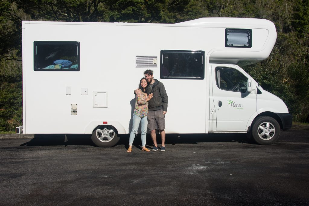 New Zealand camper camping travel