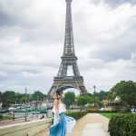 Paris travel Eiffel Tower fashion 1