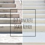 Fixing Front Steps Part II: Grinding, Concrete Repair and Textured Paint