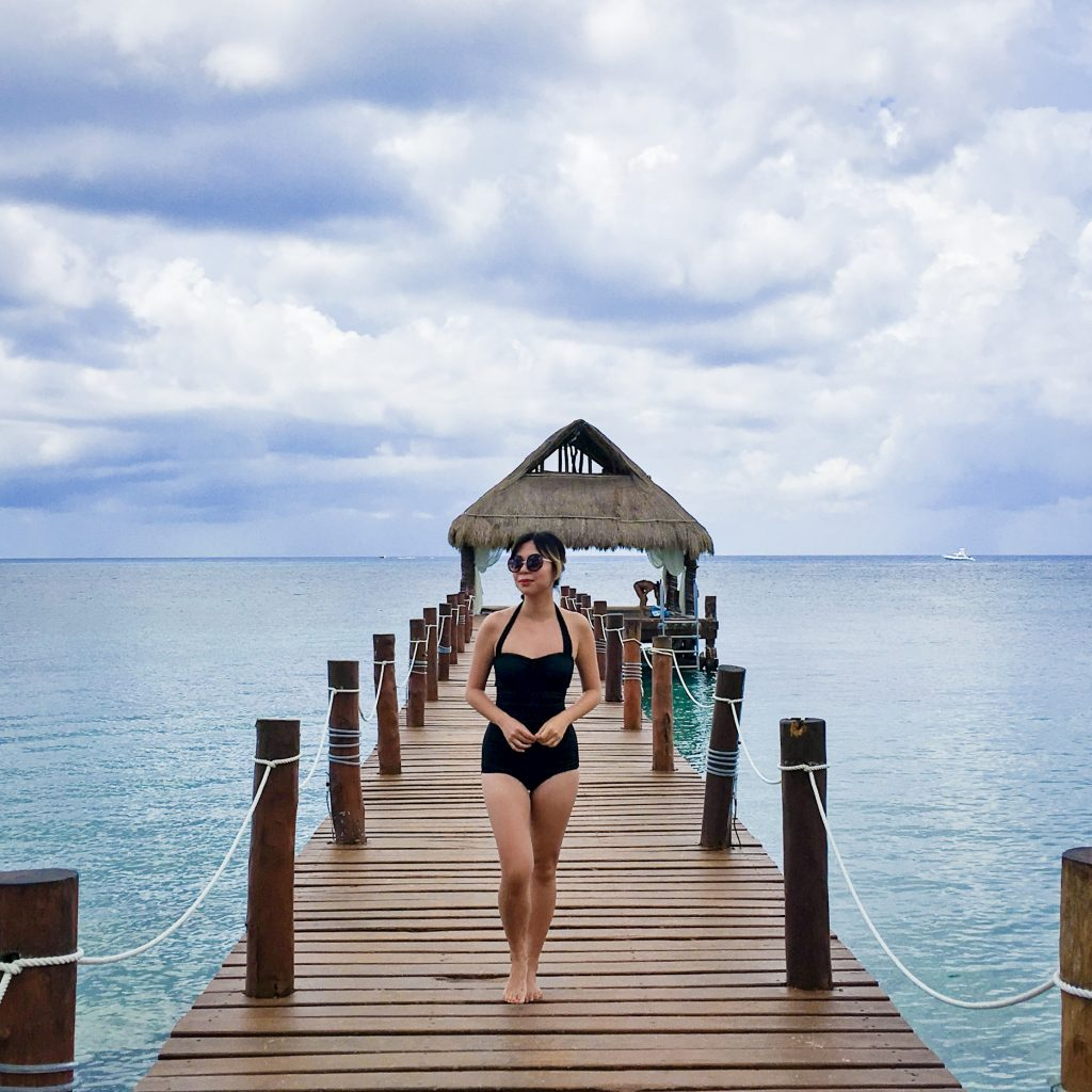 Secrets Aura pier Cozumel Mexico travel Montreal lifestyle blog