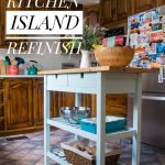 Refinishing An Ikea Kitchen Island