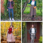fall fashion plaid checks tartan