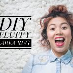 DIY fluffy rug Montreal lifestyle fashion beauty blog 2