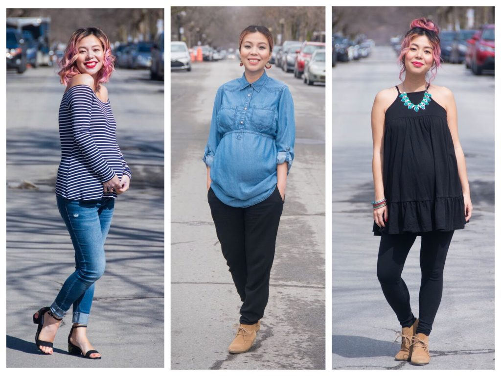 6a5a72cbe77e7 I don't know about everyone else, but one of my struggles in pregnancy so  far has been being able to find clothes that I can fit comfortably, ...