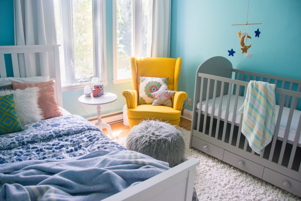 Bright And Sunny Nursery Eclectic Spark