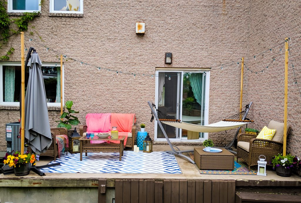 after patio deck design decor makeover remodel Montreal lifestyle beauty fashion blog
