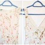 DIY altering wedding guest dress