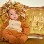 DIY baby lion costume Montreal lifestyle fashion beauty blog
