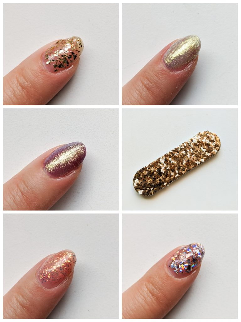 Ciate London Mini Mani Month Gilded Goddess Splash! Moondust Starcrossed Party Popper swatches Montreal beauty fashion lifestyle blog