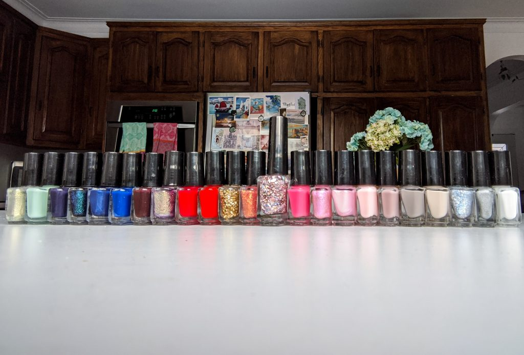 Ciate London Mini Mani Month advent calendar nail polish Montreal beauty fashion lifestyle blog 4