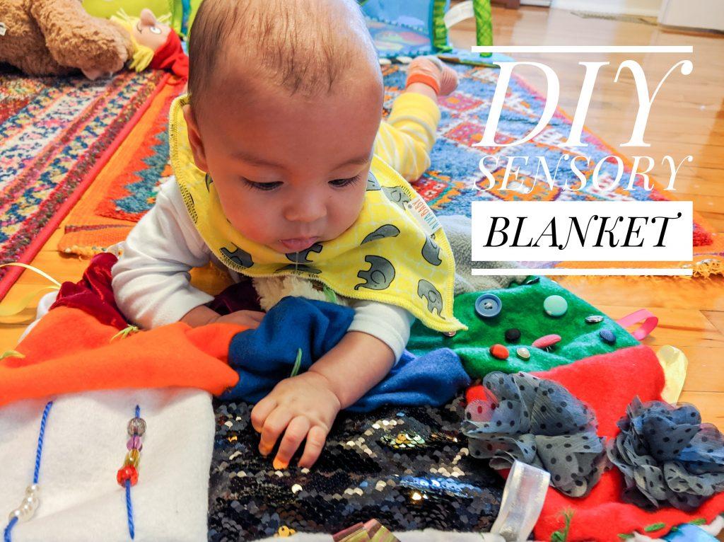 DIY sensory blanket Montrea llifestyle fashion beauty blog