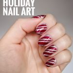 easy DIY holiday Christmas nail art Montreal beauty fashion lifestyle blog