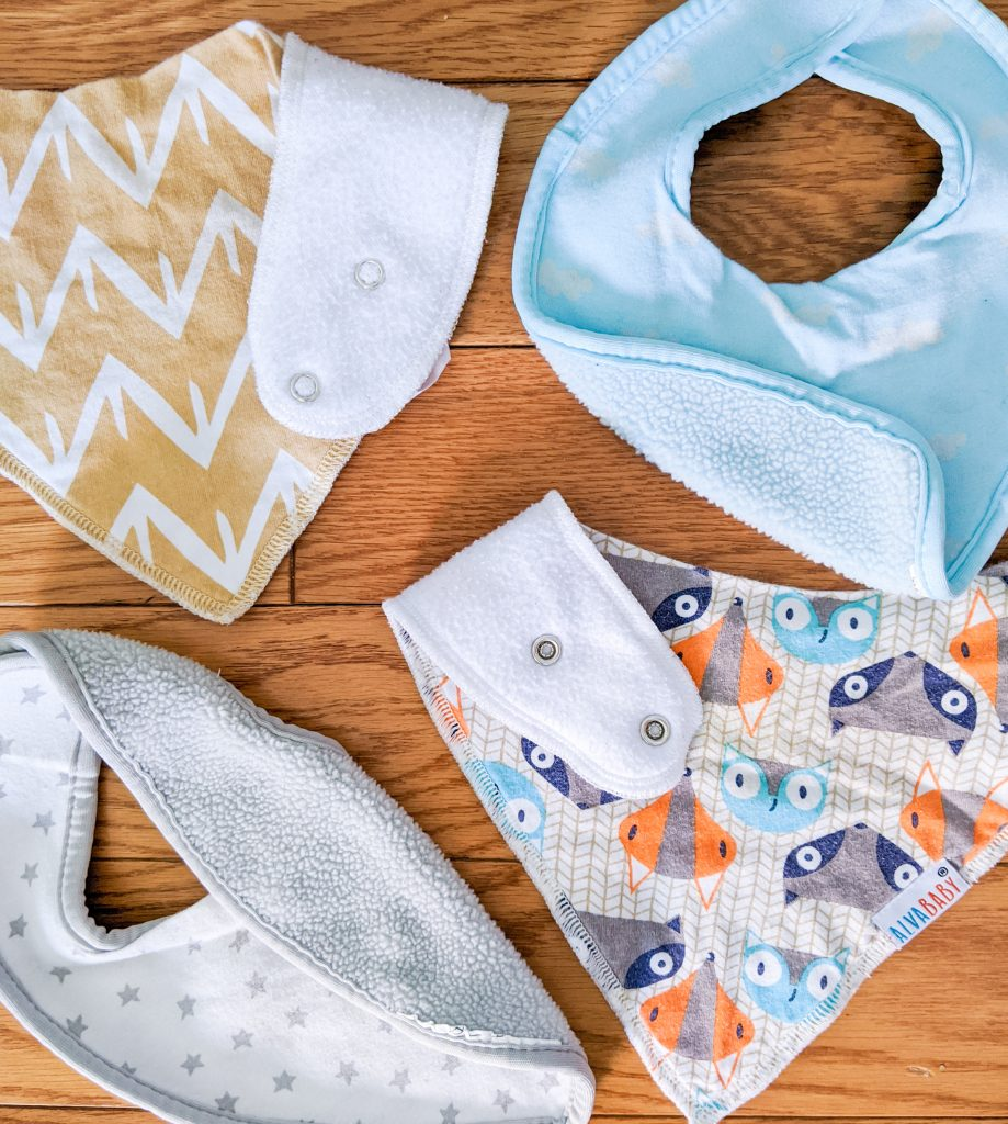ALVABABY Bandana Drool Bibs IKEA Himmelsk best and worst baby purchases Montreal lifestyle blog 2