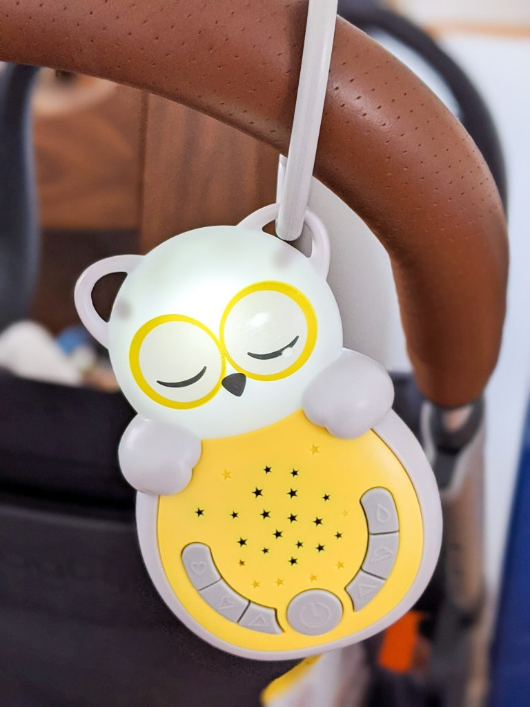 Cloud B Sweet Dreamz Owl Soother best and worst baby purchase Montreal lifestyle blog