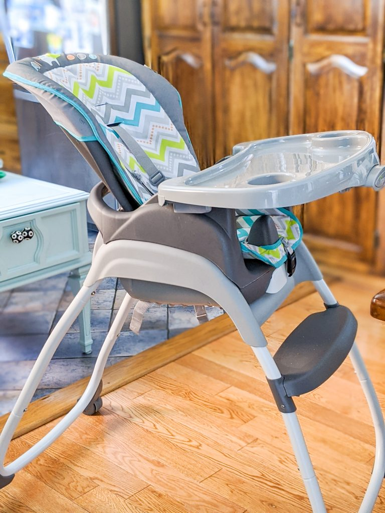 Ingenuity Trio 3-in-1 high chair best and worst baby purchases Montreal lifestyle blog 1