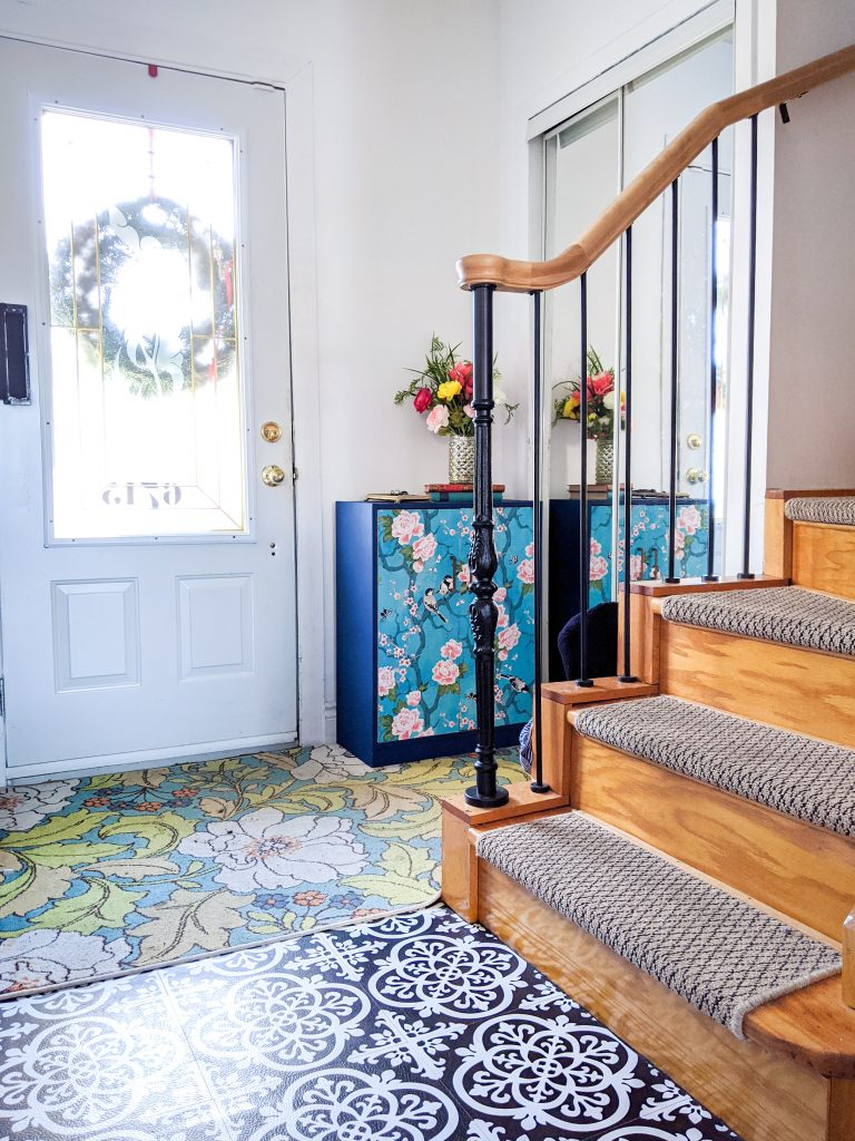 after entryway remodel Montreal lifestyle fashion beauty blog 3