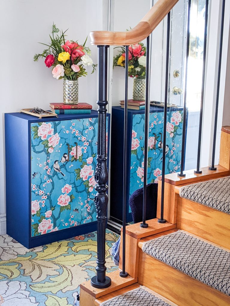 after shoe cabinet makeover entryway remodel Montreal lifestyle fashion beauty blog 1
