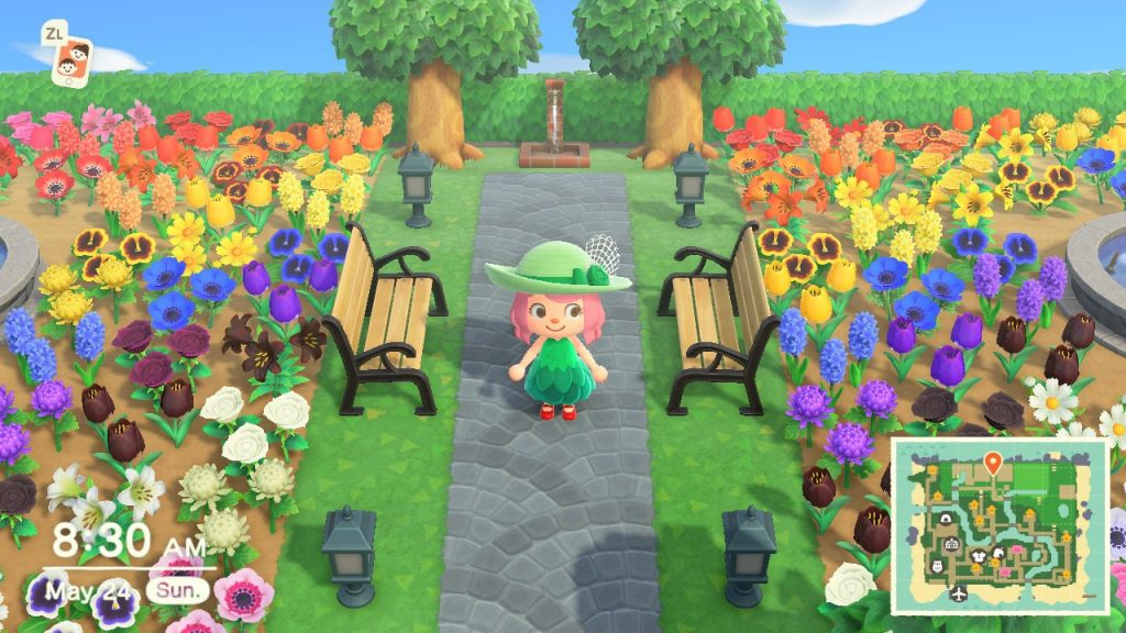 Animal Crossing New Horizons flower breeding Montreal lifestyle fashion beauty blog