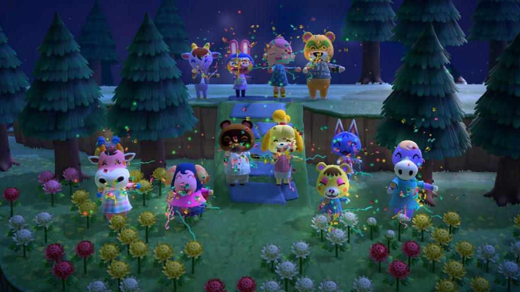 Animal Crossing New Horizons incline celebration Montreal lifestyle fashion beauty blog