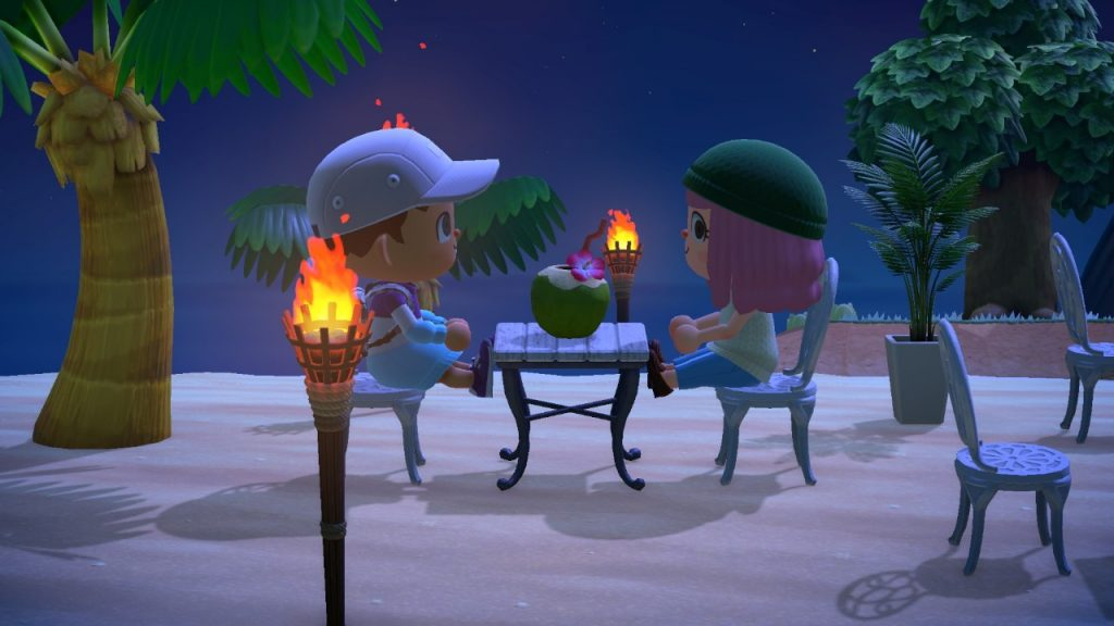 Animal Crossing New Horizons seaside cafe Montreal lifestyle fashion beauty blog