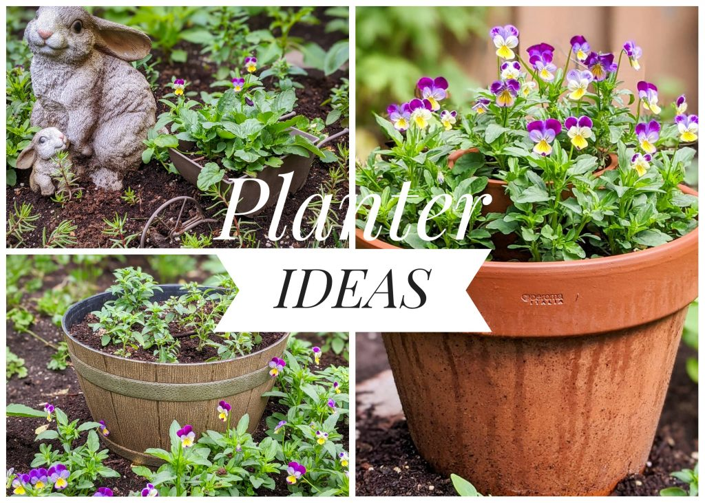 5 Easy Planter Ideas Montreal lifestyle fashion beauty blog