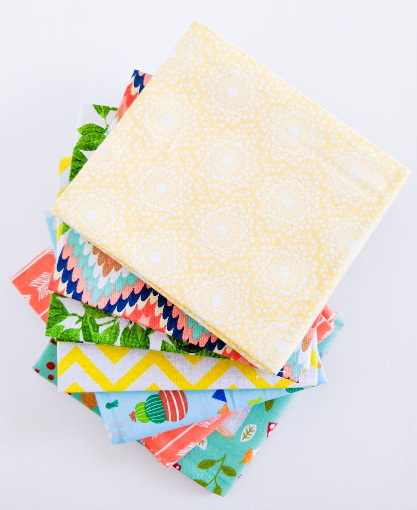 different fabrics DIY birthday party bunting banner Montreal lifestyle fashion beauty blog