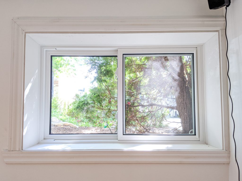 new basement windows DIY basement remodel Montreal lifestyle fashion beauty blog