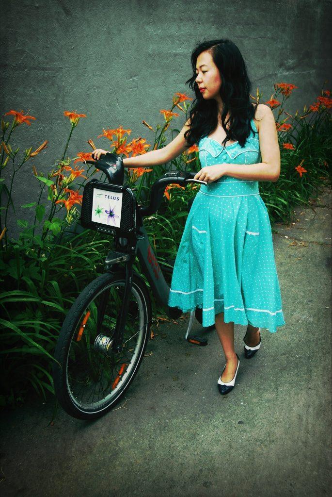 retro vintage Modcloth swing dress Montreal fashion beauty lifestyle blog