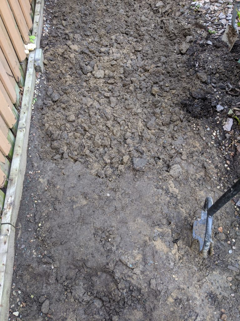 clay soil backyard landscaping garden makeover Montreal lifestyle fashion beauty blog
