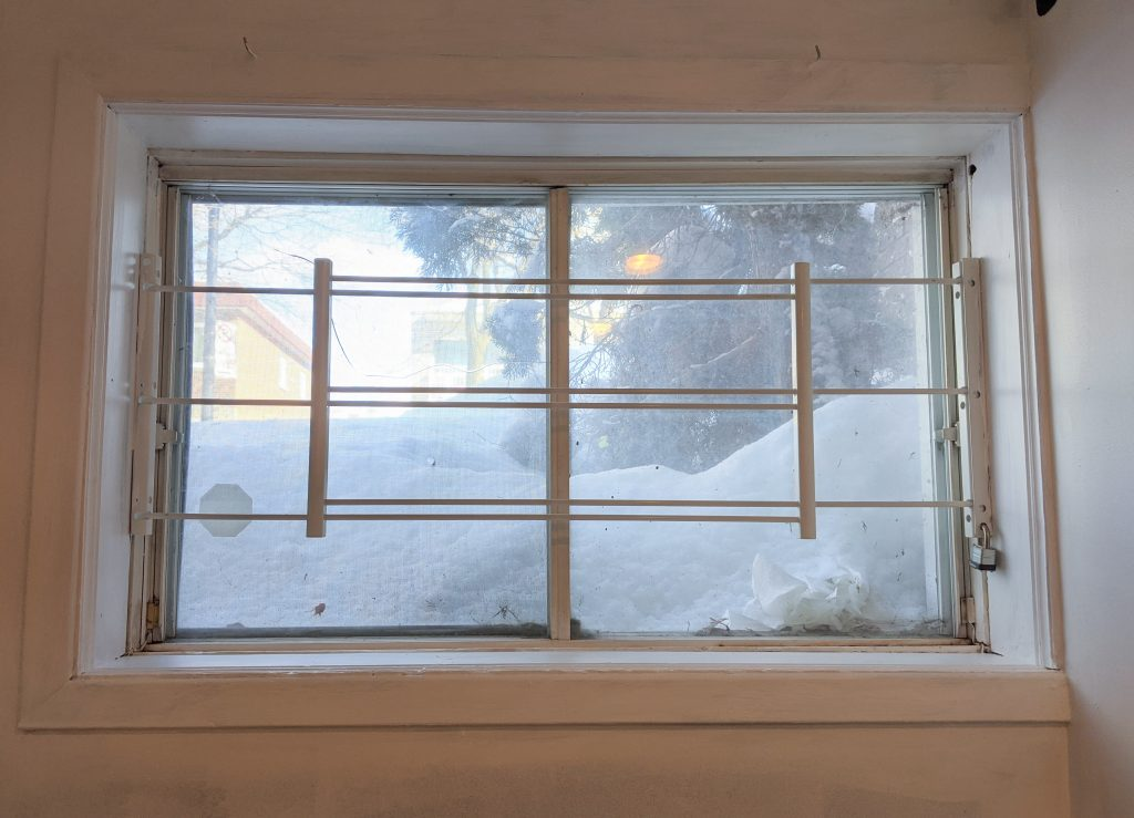 old windows DIY multi-purpose basement remodel Montreal lifestyle fashion beauty blog
