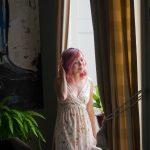 Zara floral maxi dress Montreal fashion beauty lifestyle blog 1