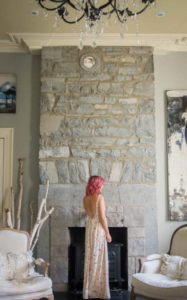 Zara floral maxi dress Montreal fashion beauty lifestyle blog 2