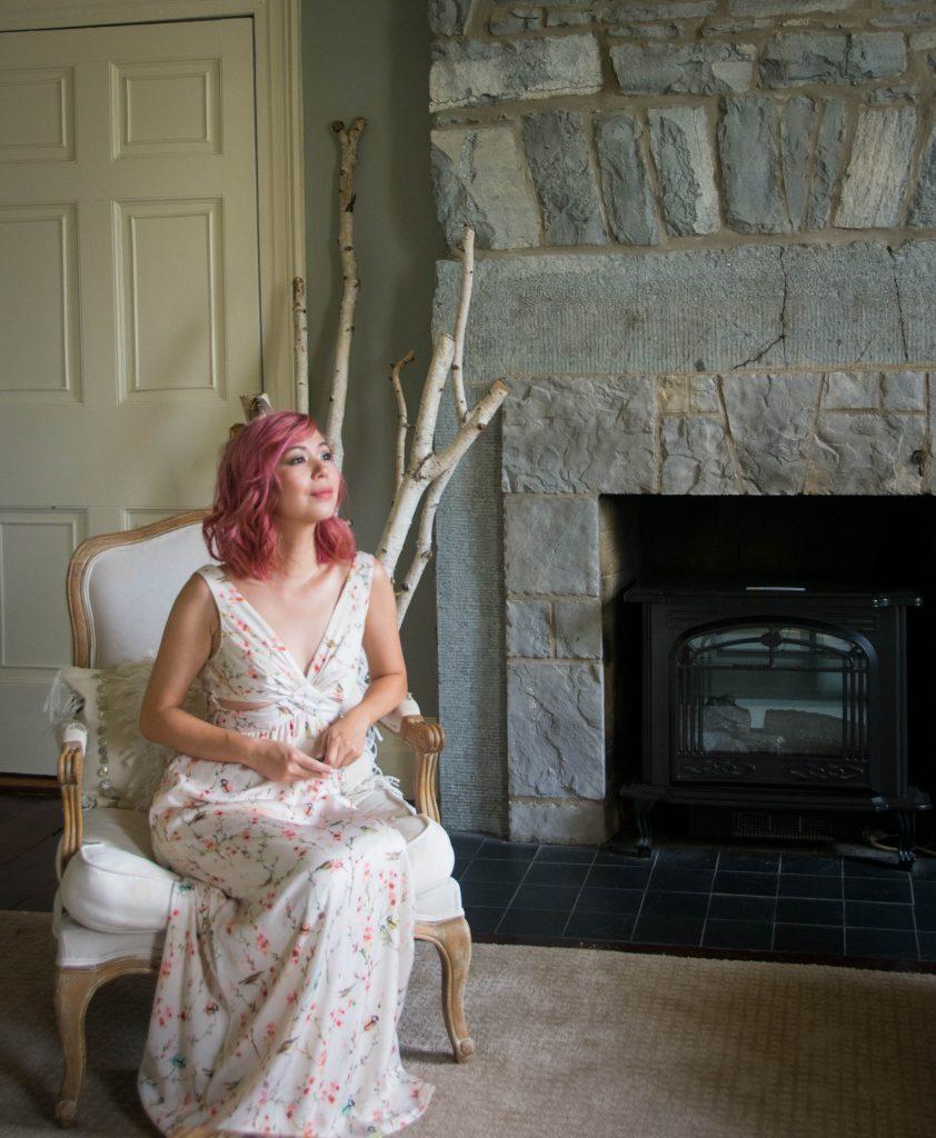 Zara floral maxi dress Montreal fashion beauty lifestyle blog 3