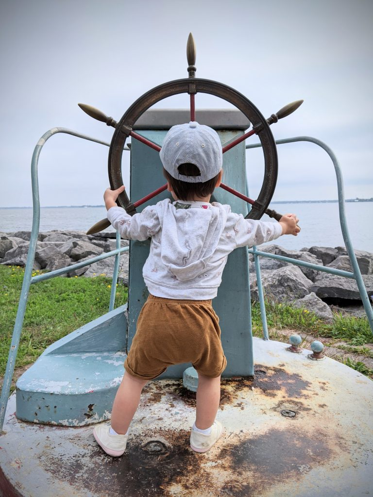 shipwheel 1000 Islands Sandbanks Provincial Park travel Montreal lifestyle fashion beauty blog