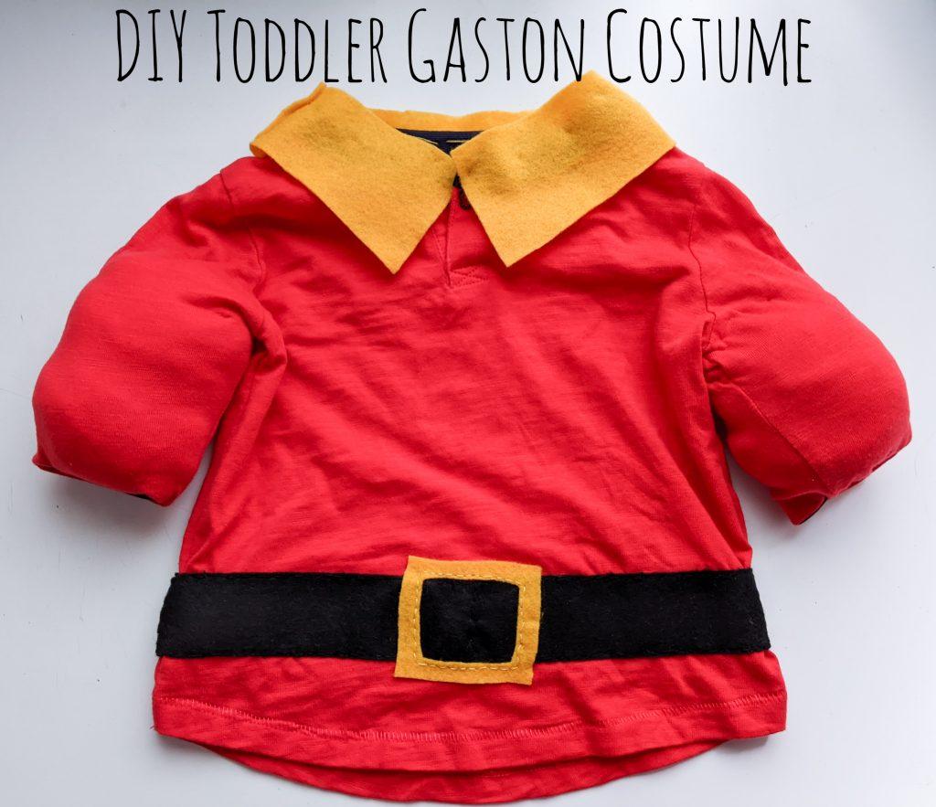 DIY toddler Gaston Halloween costume Montreal lifestyle fashion beauty blog