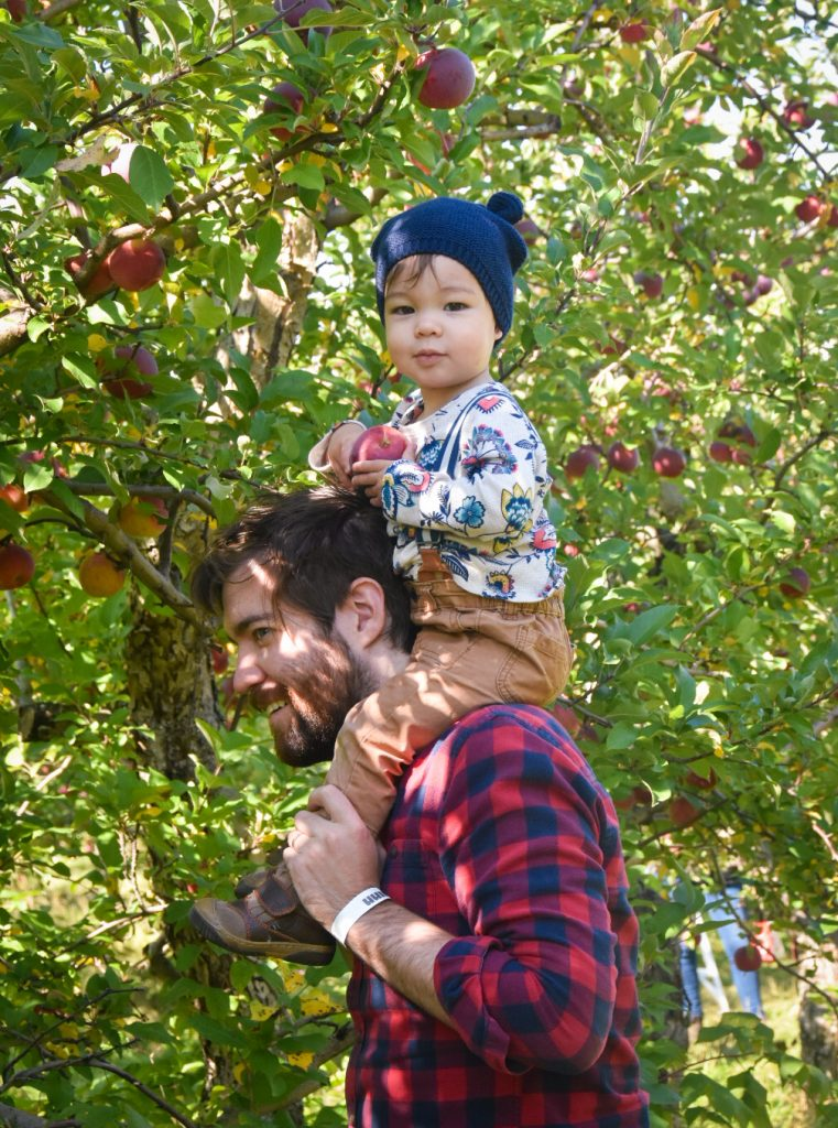 picking apples Quinn farm apple picking Montreal lifestyle fashion beauty blog
