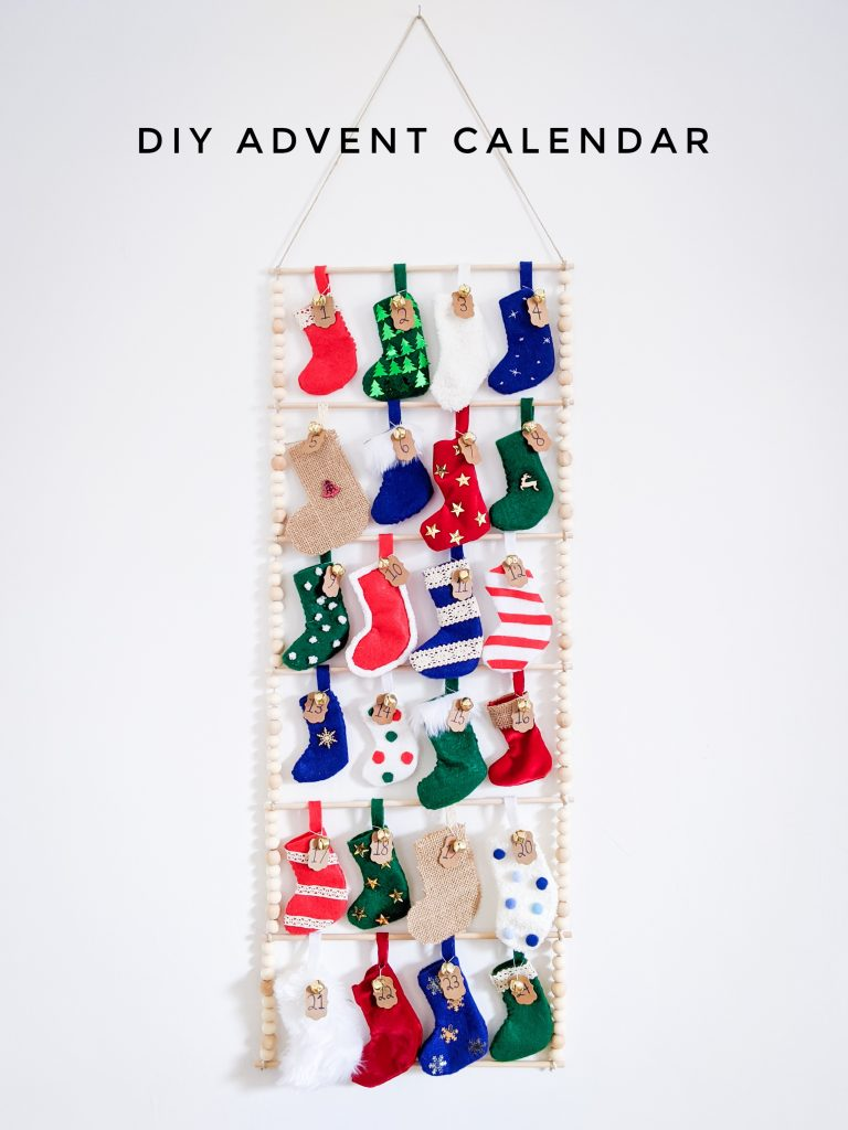 DIY advent calendar Montreal lifestyle fashion beauty blog