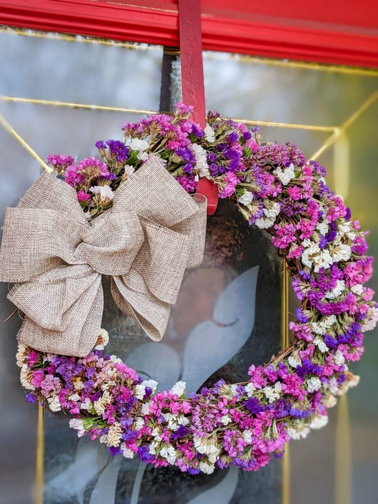 DIY dried floral wreath Montreal lifestyle fashion beauty blog 1