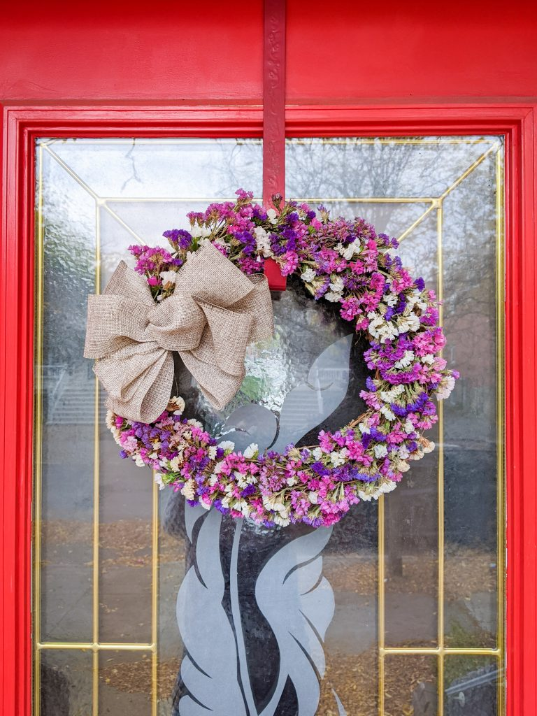 DIY dried floral wreath Montreal lifestyle fashion beauty blog 3