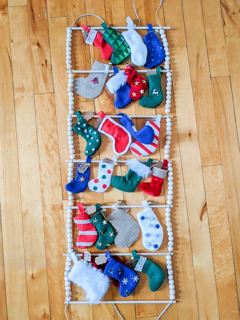 finished DIY advent calendar Montreal lifestyle fashion beauty blog 4