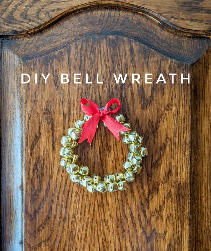 DIY bell wreath Montreal lifestyle fashion beauty blog 1