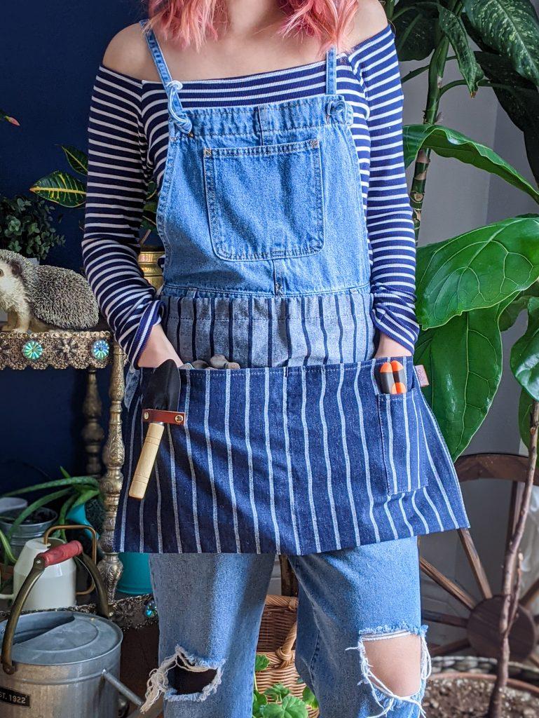 Sophie Conran waist apron gardening gear favourites Montreal lifestyle fashion beauty blog 1