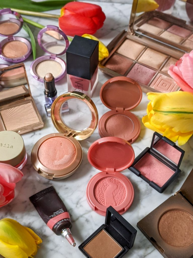 makeup collection blush bronzer highlighter Montreal beauty fashion lifestyle blog