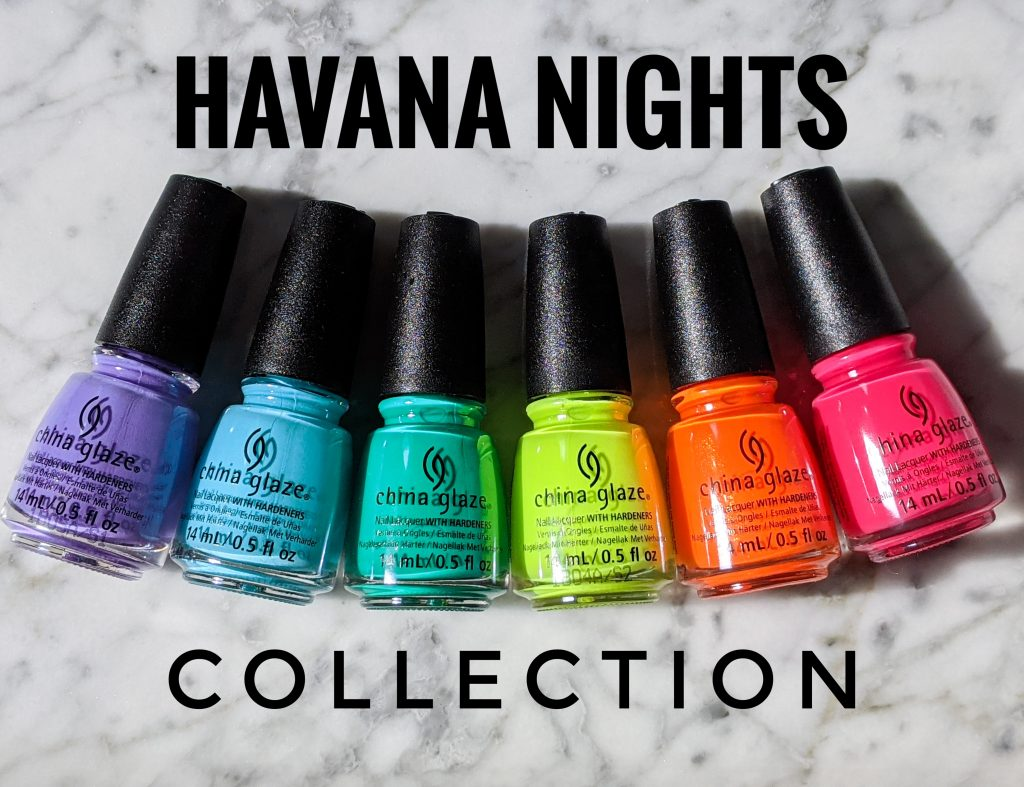 Havana Collection China Glaze review swatch Montreal beauty fashion lifestyle blog