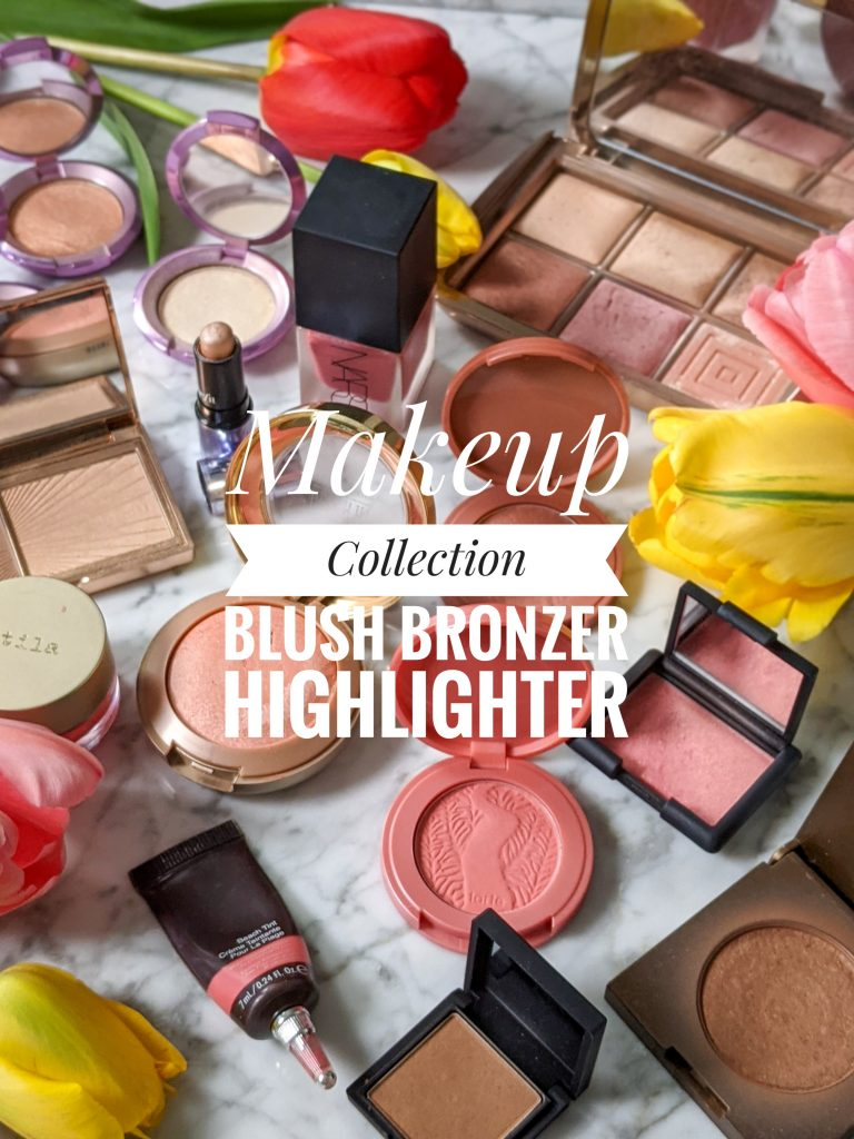 makeup collection blush bronzer highlighterMontreal beauty blog