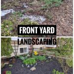 DIY front yard garden landscaping Montreal lifestyle fashion beauty blog