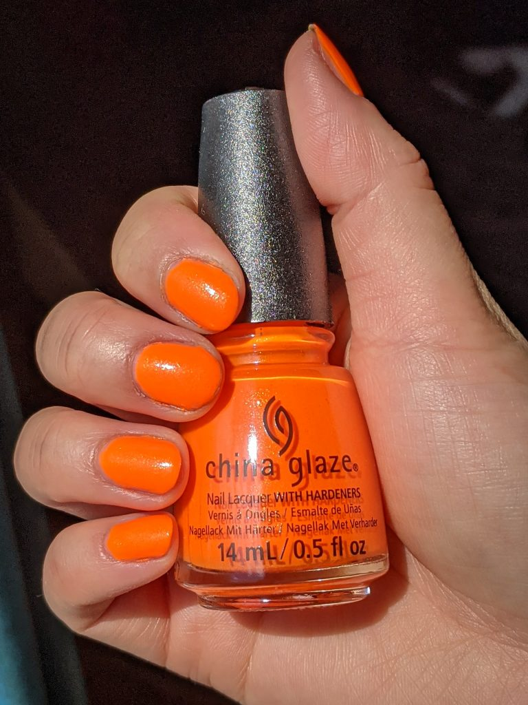 Takes Two To Mango China Glaze Havana Nights collection review swatch Montreal beauty fashion lifestyle blog 1