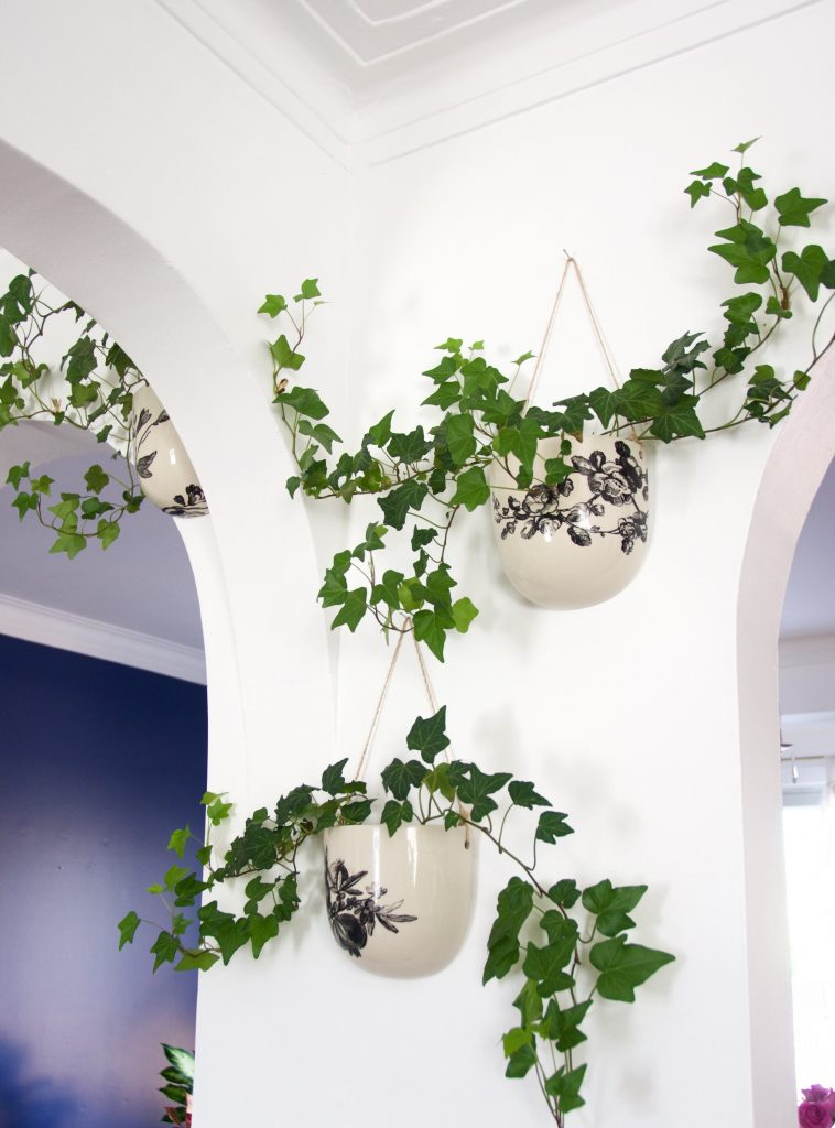 ivy planters DIY master bedroom remodel makeover Montreal lifestyle fashion beauty blog