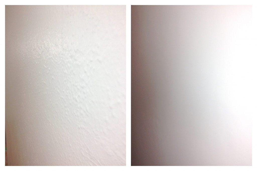 skim coating walls