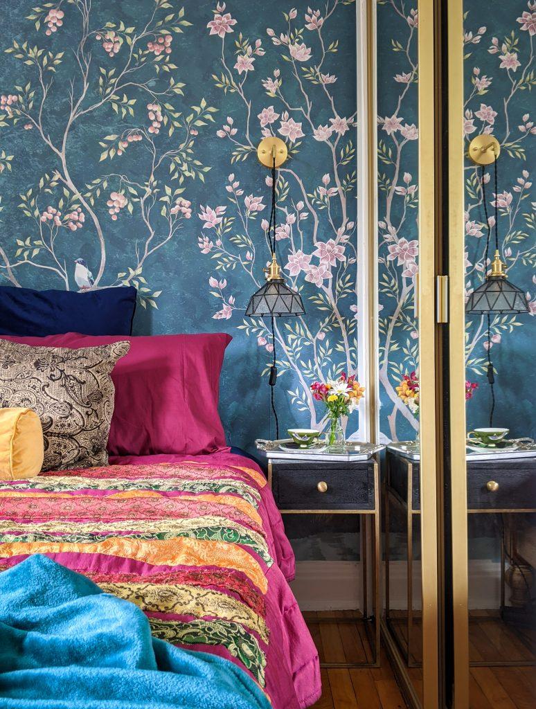 after DIY master bedroom makeover remodel Montreal lifestyle fashion beauty blog 3